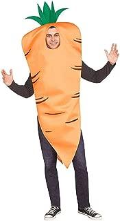 Fun World Men's Carrot, Orange, STD. Up to 6' / 200 lbs