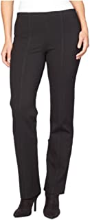 Ladies' Jolie Ponte Stretch Pull On Pant, Black (6 Average)