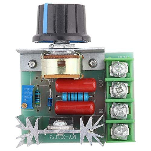 Controlador de energía de CA 220V seguro Confiable Ajustable Estable Un nuevo tipo Controlador de velocidad de tiristor de tiristor Controlador de velocidad del motor para equipos eléctricos