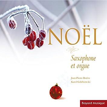 Noël: Saxophone et orgue