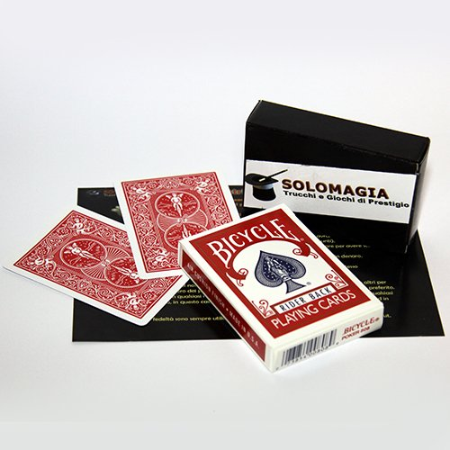 Bicycle Gaff Cards - Double Back Red - Kartenspiel - Zaubertricks und Magie