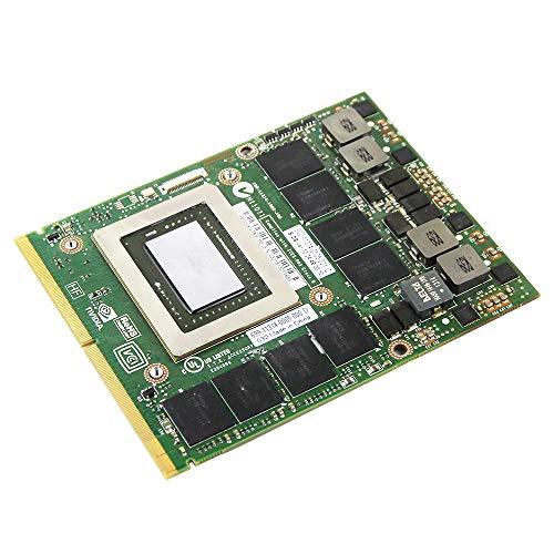 Original GDDR5 2GB Graphics Video Card Replacement for Dell Alienware M15X R1 R2 M17X R1 R2 R3 R4 M18X R1 R2 MSI GT60 1761 Gaming Laptop nVidia Geforce GTX 675M N13E-GS1-A1 MXM VGA Board Repair Parts