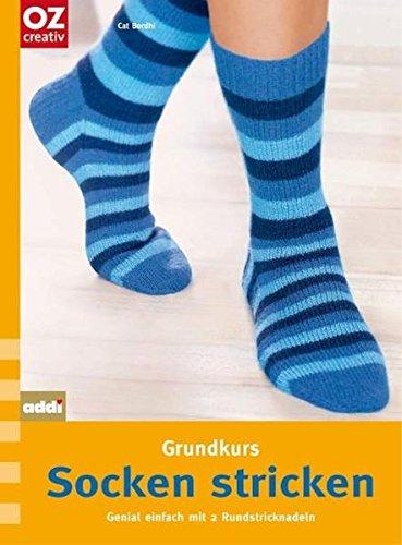 Grundkurs Socken stricken: Genial einfach mit 2 Rundstricknadeln. basics compact