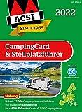 ACSI CampingCard & Stellplatzführer 2022: Bestehend aus 2 Bänden inkl. ACSI CampingCard Ermässigungskarte und ACSI Camping Europa-App Rabattcode