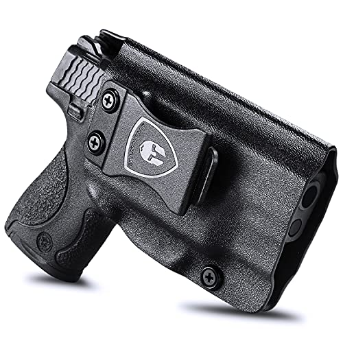 IWB Kydex Holster Compatible with S&W M&P Shield 9/.40 M2.0 Integrated Crimson Trace Laser Holster Pistol Only, Inside Waistband Concealed Carry Holster, Adj. Cant & Retention, Right Hand