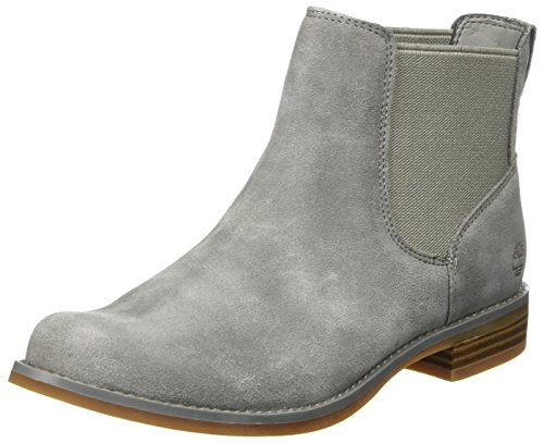 Timberland Damen Magby Pull-On Chelsea Boots, Grau (steeple Grey), 39 EU