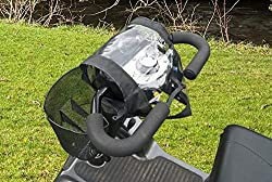 Protect your mobility scooter electrics from the elements * Waterproof Measurements * Length - 46 cm * Width - 20 cm * Total strap length - 82 cm Universal fit, use the hook and loop fastening to adjust the cover Clear section allows you to see the c...