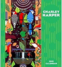 Charley Harper Wall Calendar 2019 with Premium GiftBow (TM)