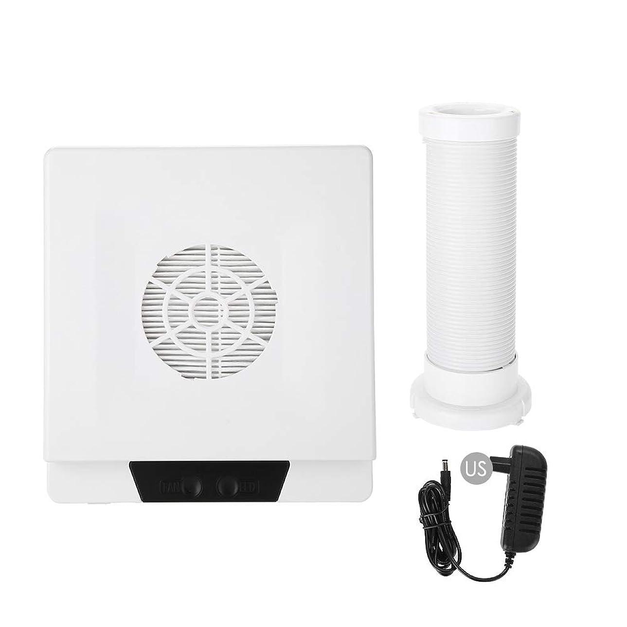航空後継十分ではないTOPINCN 60W 強い力 ネイルアートダストサクション ネイルアート集塵機 マニキュア掃除機 ネイルダストクリーナー(02)