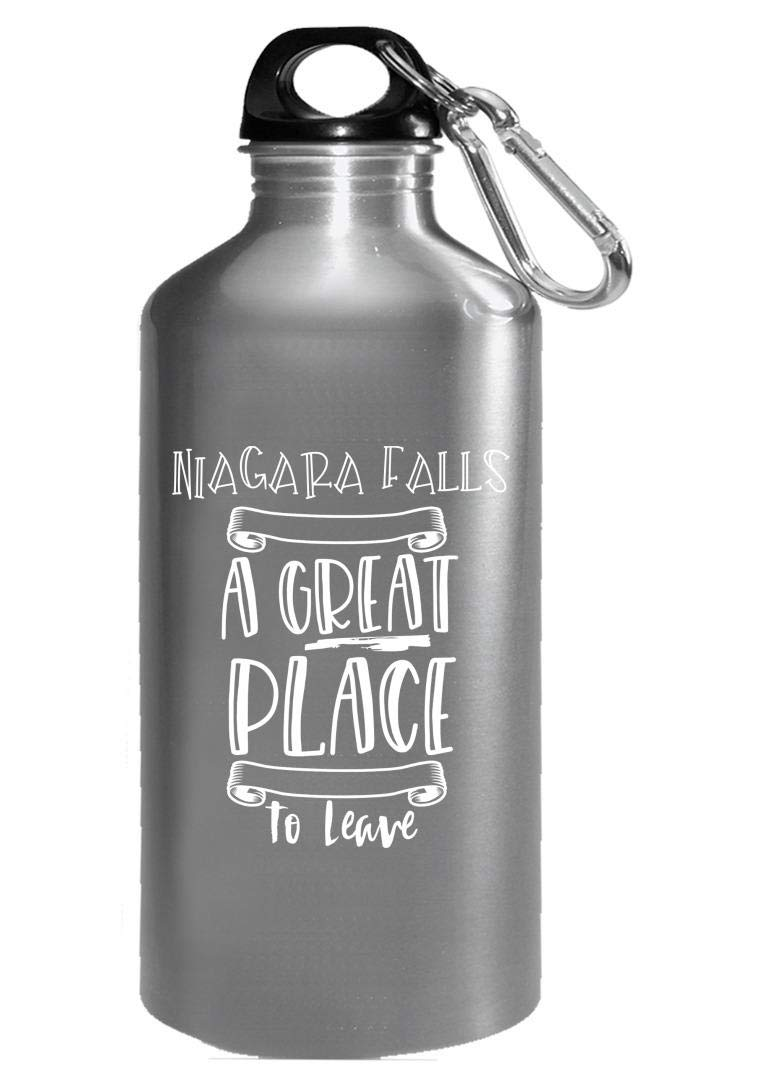 Niagara Falls Is A Great Place To Leave - Botella de agua: Amazon ...