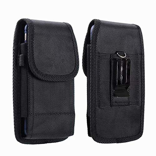 Lelogo Handy Gürteltasche Taktische Hüfttasche Universal Schutzhülle für Wandern Gürteltasche Reisen Sport Handytasche (5,2-5,5 Zoll Smartphones)