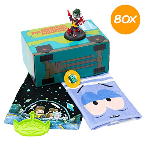 WOOTBOX Cartoon - Geschenkbox - Rick & Morty - Joker - South Park - Toy Story