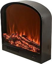 VBARV Hogar Chimenea de calefacción electrónica montada en la Pared - hogar con Pared de Llama simulada con Estufa empotrada con Chimenea termostática con Control Remoto