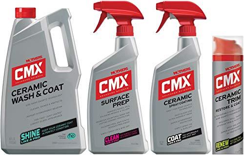 Mothers CMX Ceramic Prep + Ceramic Spray Coating + Ceramic Trim + Cremaic Wash & CoatBundle