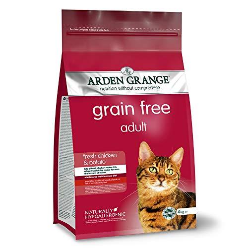 Arden Grange Adult Dry Cat Food, Chicken, 4kg