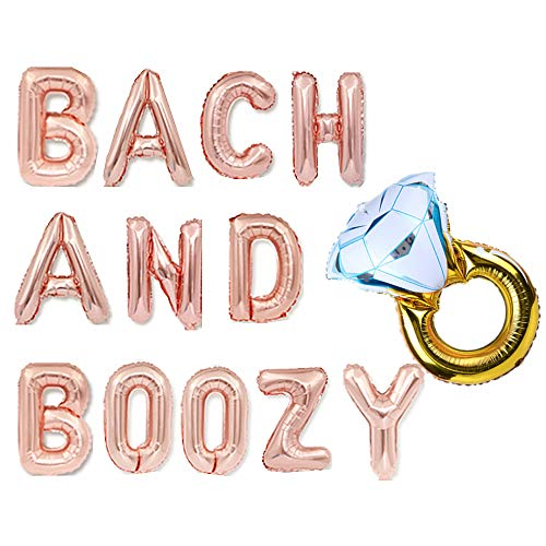 JeVenis Bach And Boozy Decorations Bach and Boozy Balloons Bach and Boozy Banner Banner Bach and Boozy Sign Bachelorette Decor Bach Balloons