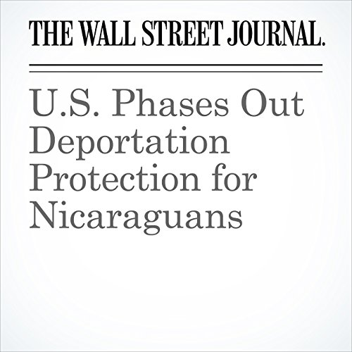 U.S. Phases Out Deportation Protection for Nicaraguans copertina