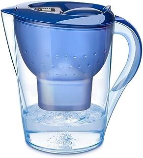 RMXMY 家庭用キッチン浄水器、大型浄水器(BPAフリー)、電子フィルター付きインジケータ、5層ろ過、塩素、鉛、重金属と臭気、青 (Color : A)