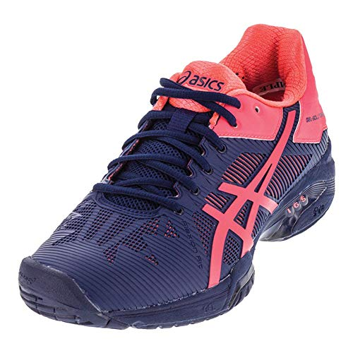 ASICS Women's Gel-Solution Speed 3 Tennis Shoe, Indigo Blue/Diva Pink, 7 M US