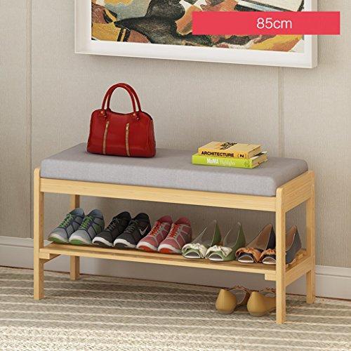 LITINGMEI Shelf Haushalts-Regal-Speicher-Schuh-Racks Moderne mehrstöckige hölzerne Regale 85cm (Farbe : A)