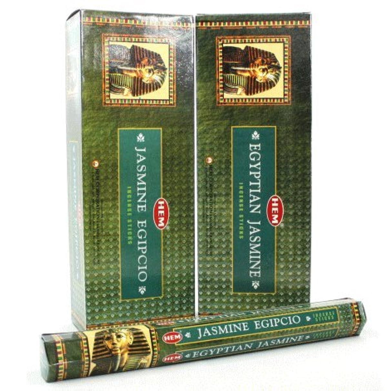 象憎しみガードHEM エジプシャン ジャスミン香 スティック ヘキサパック(六角) 12箱セット HEM EGYPTIAN JASMINE
