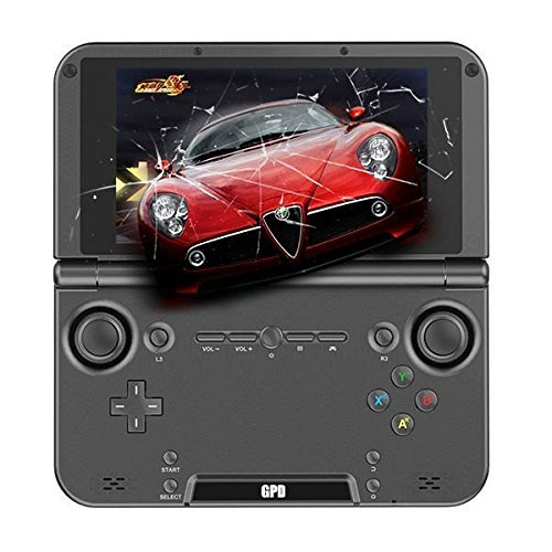 GamePad Digital GPD XD (32 GB) - Android Quad-Core Gaming Tablet 5'' con Emuladores y Roms para PlayStation, PSP, Nintendo 64, Gameboy, Sega, Arcade Mame, Dreamcast