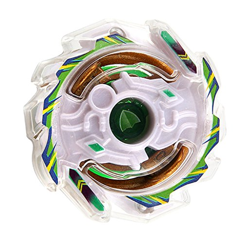 MagiDeal Gyro Tops Gyroscope Métal Fusion Filature 4D Top Jouet Enfant pour Garçon - Vert Blanc--B-22