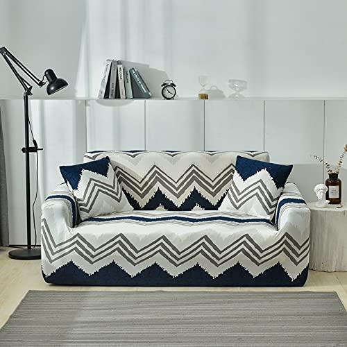 MKQB Funda para sofá de la Sala de Estar, Funda Protectora elástica para sofá elástica, Esquinas seccionales Antideslizantes Que envuelven firmemente la Funda del sofá N ° 3 S (90-140 cm