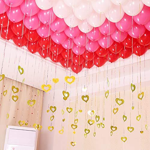 Red Pink White Balloons Kit