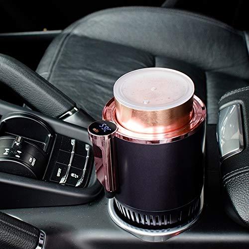 Portable 2 en 1 Smart doble finalidad Calefacción Refrigeración titular de la taza for Auto y Casa Alta calidad (Color : Purple)