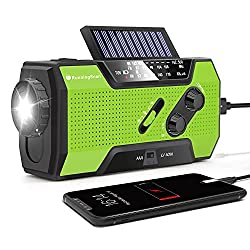 RunningSnail Solar Crank NOAA Weather Radio