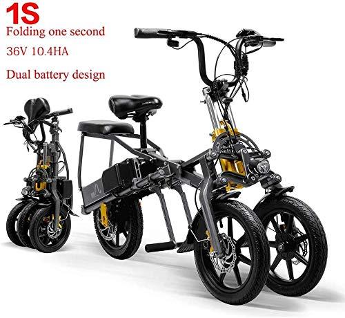 Qnlly 2.0 Motocicleta eléctrica 26inch Bcycle Electric 48V Batería de Litio Smart Super E-Motor 50km Vida útil máxima de la batería,Negro