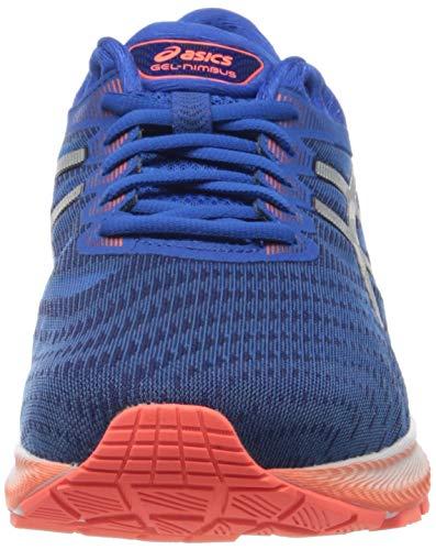 Asics Gel-Nimbus 22, Zapatillas de Correr Hombre, Azul ( Tuna Blue/Pure Silver), 42.5 EU