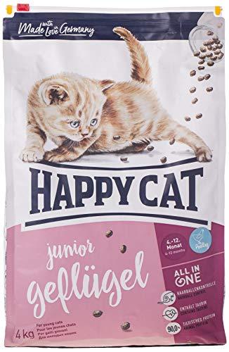 Happy Cat Supreme Junior Geflügel, 4 kg