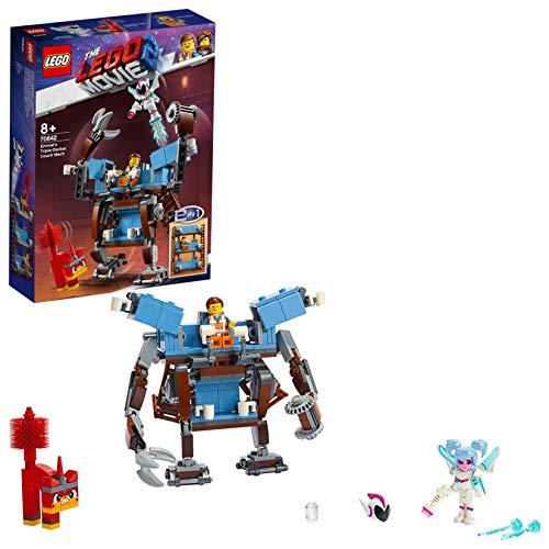 LEGO Movie 2 70842 - Divano a tre piani di Emmet's Mech 2 in 1 con bambola dolce Mayhem e Rampage Unikitty
