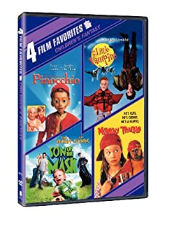 4 Film Favorites  New Line Family  The Adventures of Pinocchio The Little Vampire Monkey Trouble Son of the Mask