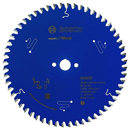 BOSCH 2608644037 - Disco de sierra circular CSB Expert madera: 184x16x56D
