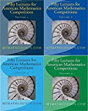 Fifty Lectures for American Mathematics Competitions: Volume 1-4 (AMC 8 /AMC 10/ AMC 12)