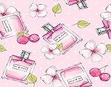 WOTAKA Kits de pintura de diamantes, botella de perfume y flores., para adultos Full Drill Canvas Patterns Arts Home Wall Decor (16' *20')