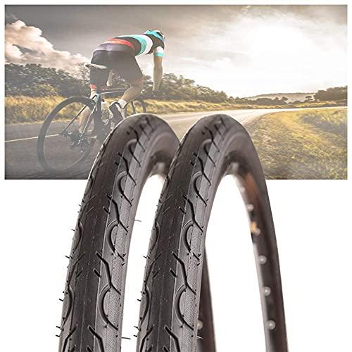 Neumáticos de Bicicleta 700 * 28C-Bicicleta de montaña-Neumático de Bicicleta Plegable, Accesorios prácticos para Bicicleta (2 Piezas)