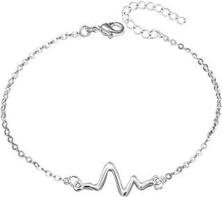 JMQJewelry Shiny Sexy Beach Anklets Bracelets Foot Jewelry Alloy Chain for Women