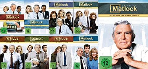 Matlock - Season/Staffel 1-9 - die komplette Serie im Set - Deutsche Originalware [52 DVDs]