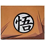 Dragon Ball Z Goku's Kanji Symbole Portefeuille Orange