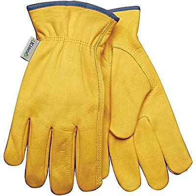 Kinco 98W Women's Top-grain Cowhide Leather Ranch and Work Glove
