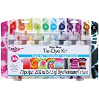 12-Count Tulip One-Step Tie-Dye Colors Kit