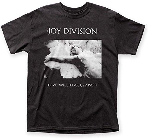 Joy Division Herren T-Shirt Schwarz Schwarz Gr. M, Schwarz