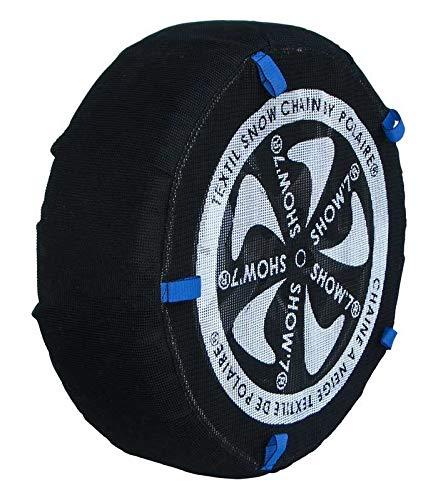 Polaire Chaussette Chaine Neige Textile Pneu 195/55R20 Haute résistance
