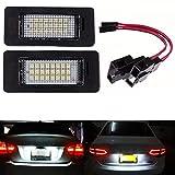 Yuk 2 x targa lampada LED per A4 B8 A5 Q5 Passat S5 senza errori