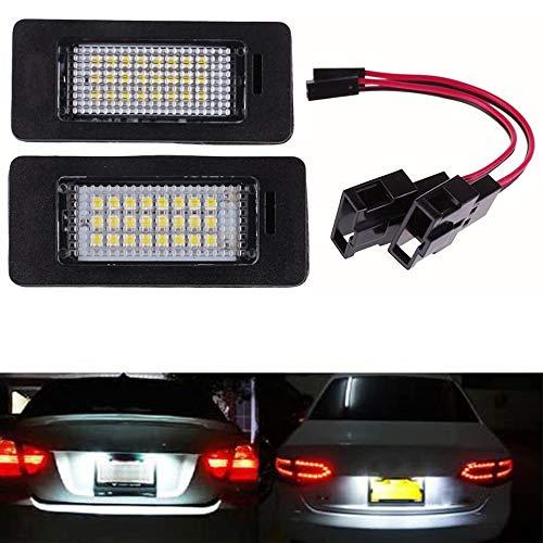 Ricoy 2x LED-Lampe für Nummernschild für A4B8A5Q5Passat S5, fehlerfrei