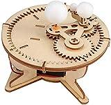 Venus Valink Madera Puzzles, Sol Luna Tierra Running Modelo Ciencia Experimento Niños DIY Montaje Juguete Educativo, Regalo Infantil
